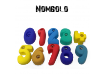Nombolo - Set of 10 Climbing Holds